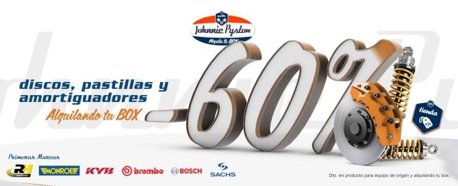 Johnnie Pyston Alquiler Boxes Madrid Banner PerfectPixel Publicidad